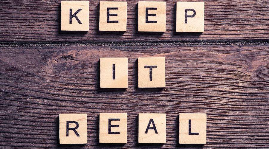 Keep your blogging real, and attract customers